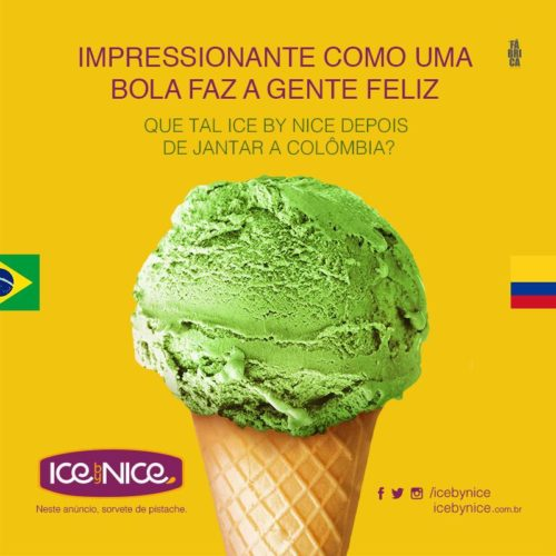 Ice By Nice - Campanha Copa do Mundo